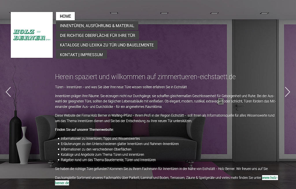 Holz-Lexikon: Holz-Berner GmbH
